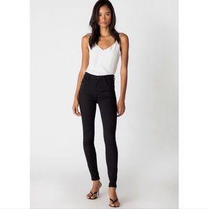 J BRAND Maria High Rise Skinny Jeans in Black